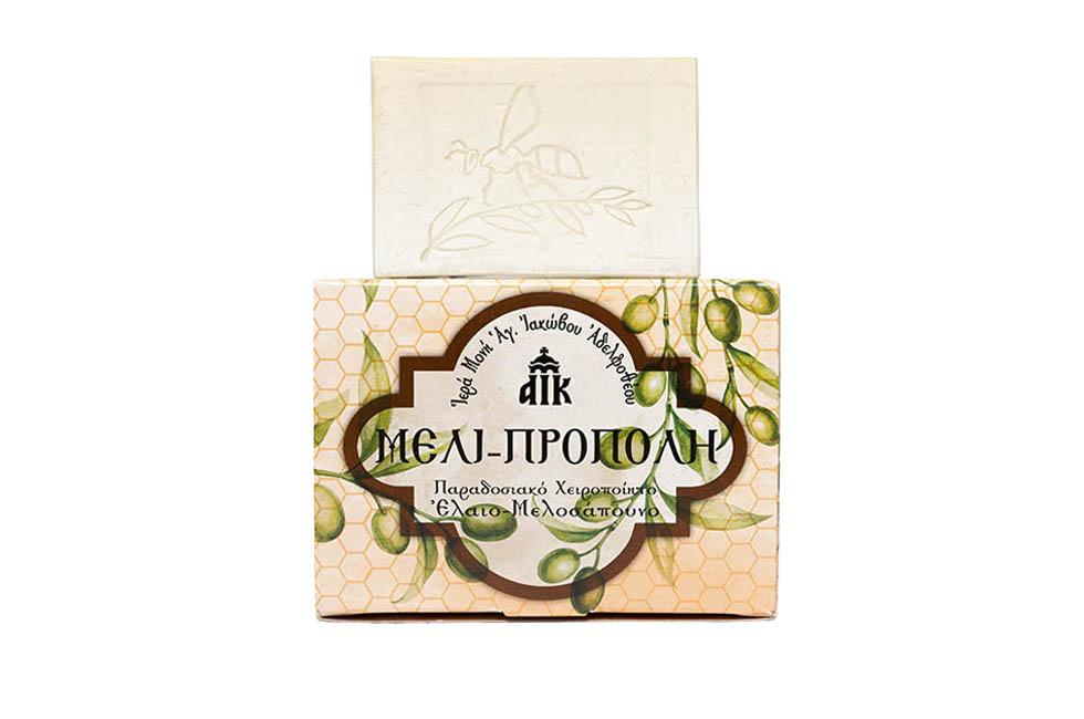 Ελαιο-μελοσάπουνο μέλι- πρόπολη