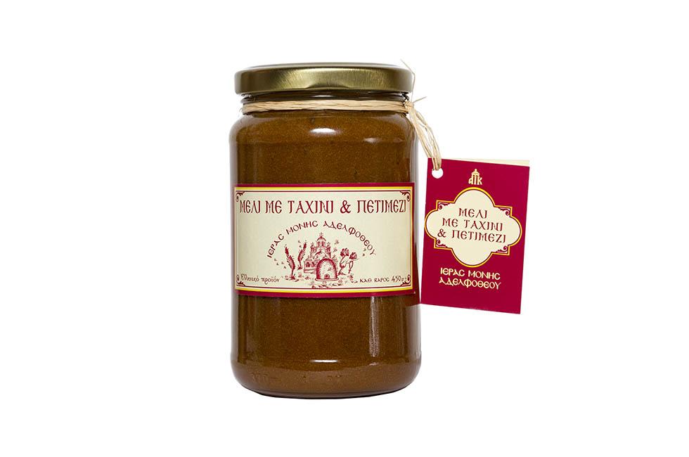 Μέλι με Ταχίνι και Πετιμέζι